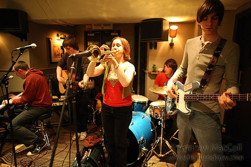 #livemusic #scottishmusic #yellowbentines #trumpet #bass #bassguitar #guitar #drums #piano